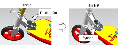 Xe trượt scooter đạp chân Wing A 13