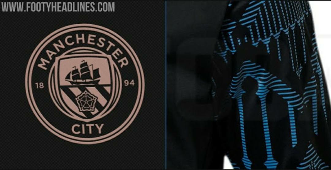gambar kostum jersey man city musim 2020-2021