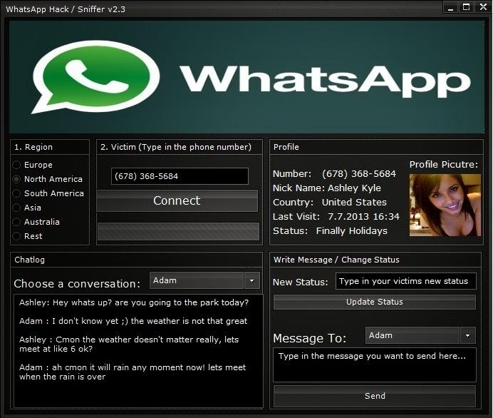 senha para whatsapp sniffer
