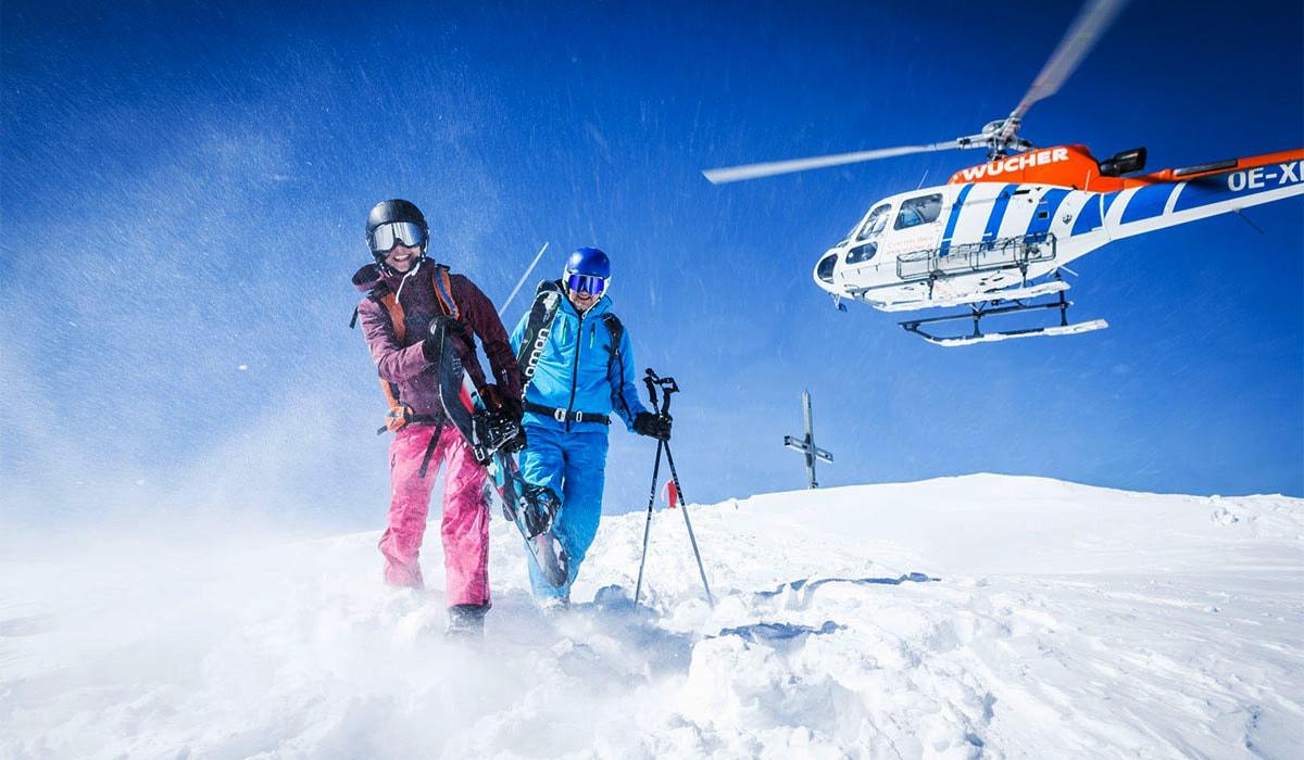 Helli Skiing