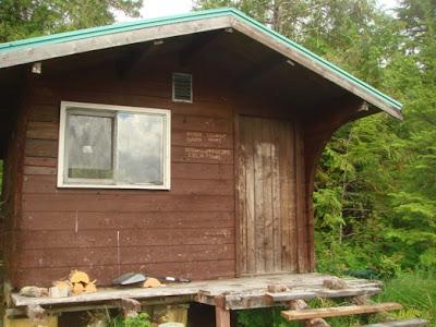 Thoms Lake Cabin Alaska in 2008
