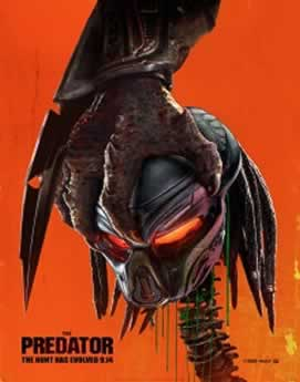 Capa O Predador Dublado 2018 Torrent