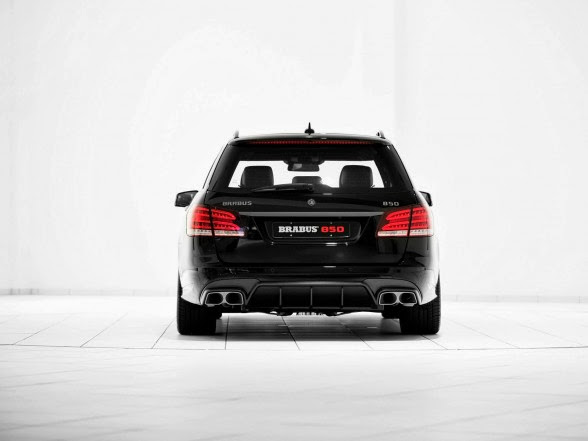 2014 Brabus Mercedes-Benz E63 AMG Wagon - Rear