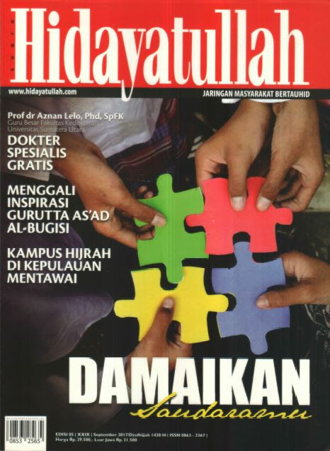 Hidayatullah Edisi September 2017