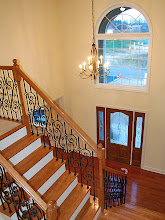 Photo: Two-story foyer in a SAXON GRAND