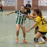 OAR Gràcia - E. Castelldefels, Div. Plata fem. (4/10/15)