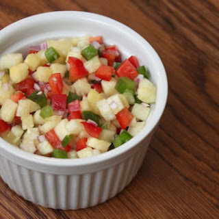 Pineapple Pepper Confetti Salad.