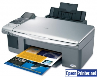 How to reset Epson CX5000 printer