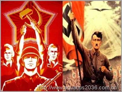 nazismo comunismo socialismo