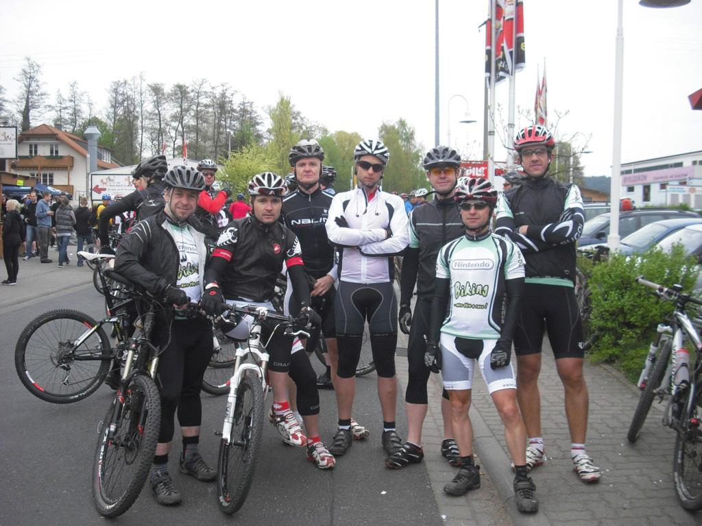 Spessart-Biker in Sulzbach am 17.04.2011