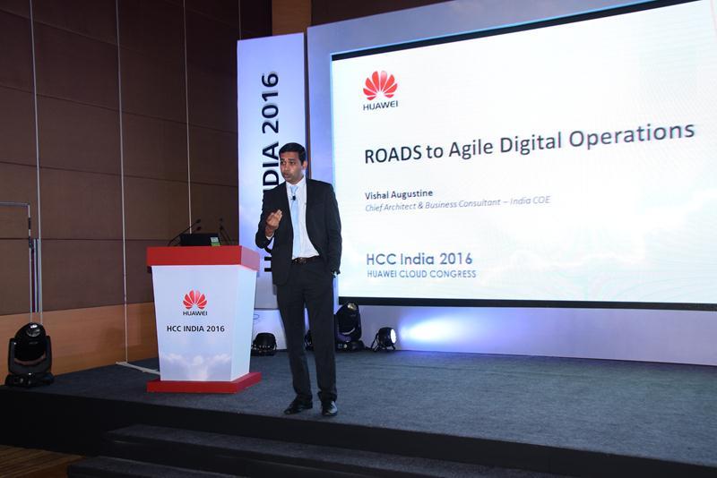 Huawei Cloud Congress India 2016 - 20