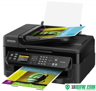 How to Reset Epson WorkForce WF-3520 printing device – Reset flashing lights problem