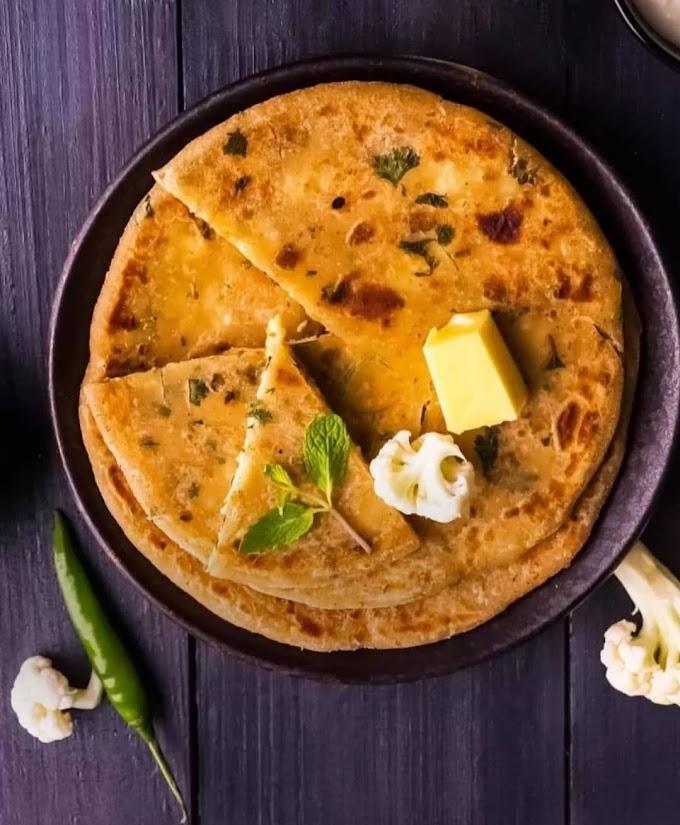 Gobi Paratha/Stuffed Cauliflower Paratha  Recipe | Breakfast Care