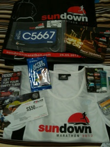 Sundown Marathon 2010 Race Pack