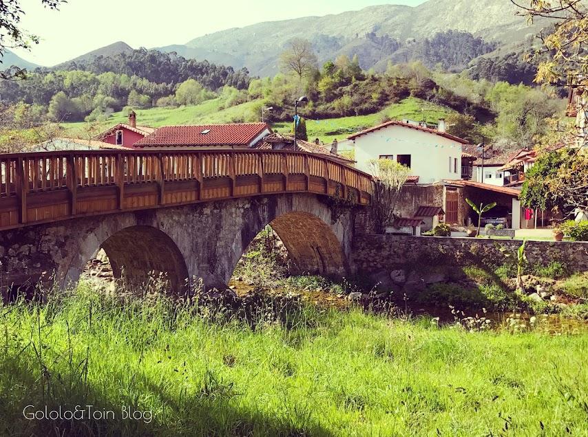 Paisaje de la ruta senderista El Camín Encantau