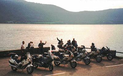 Sosta al lago di Bourget, dopo Aix-les-Bains