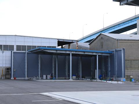 西鉄高速バス・西鉄観光バス 本社 清掃スペース