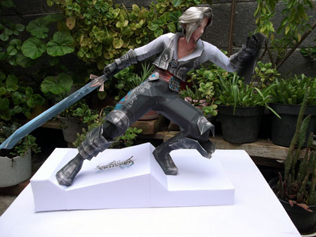 Dissidia 012 Final Fantasy Conflicted Hero Vaan Papercraft