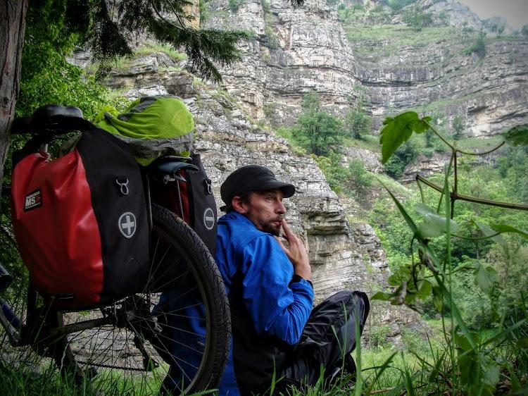 Iskar gorge, Along Iskar River. In Iskar gorge