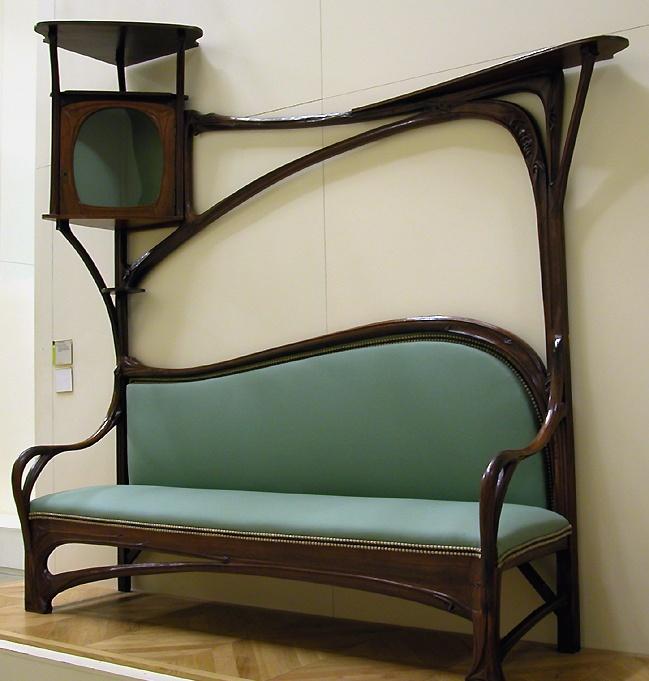 Hector guimard chez edmea - Art nouveau mobili ...