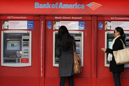 Bank of America Debit Card Fees Withdrew