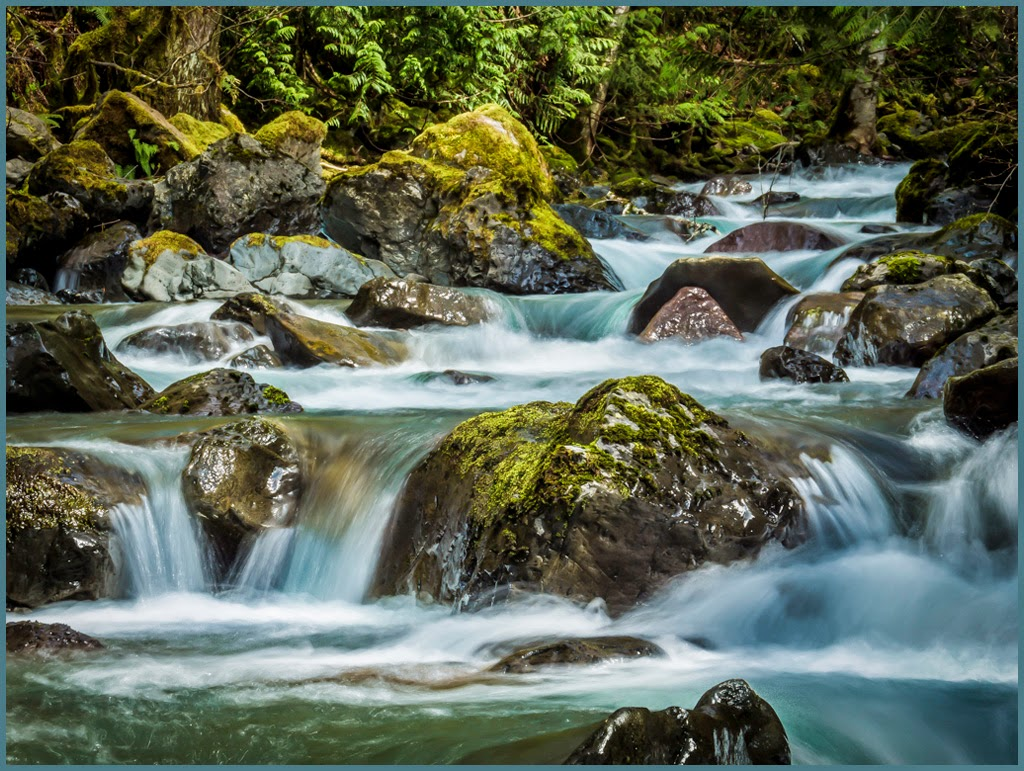 """Mountain Stream"" by Tim Snyder -- 2nd Place General A"