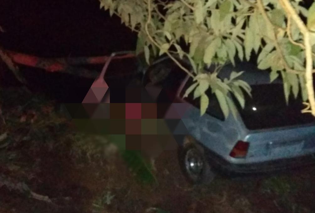 Homem morre durante acidente agora a noite em Mato Rico