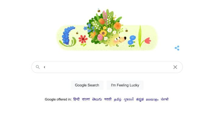 Spring Season 2021: Google Doodle celebrates with an animated hedgehog