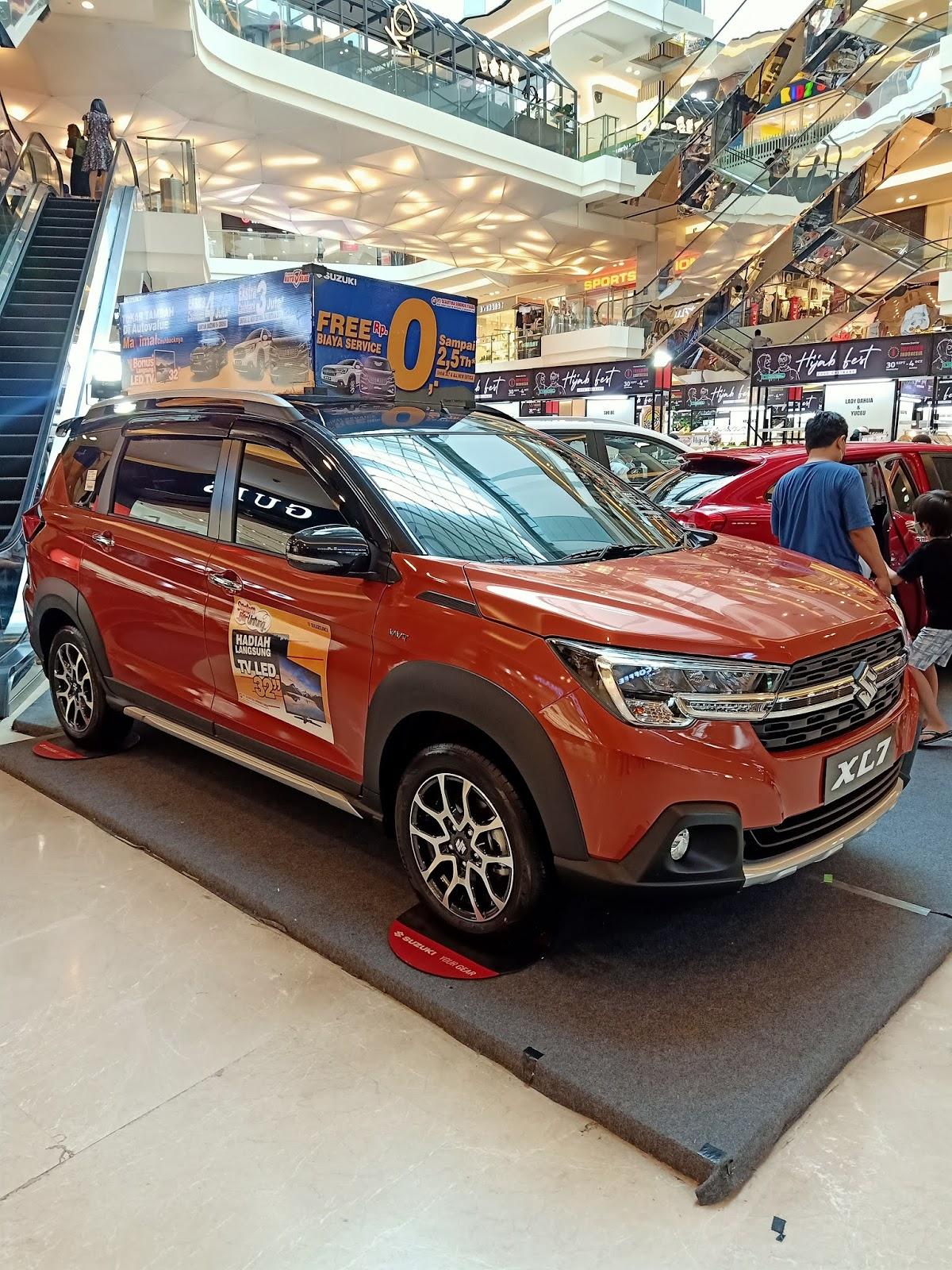 Pameran Suzuki XL7 Semarang