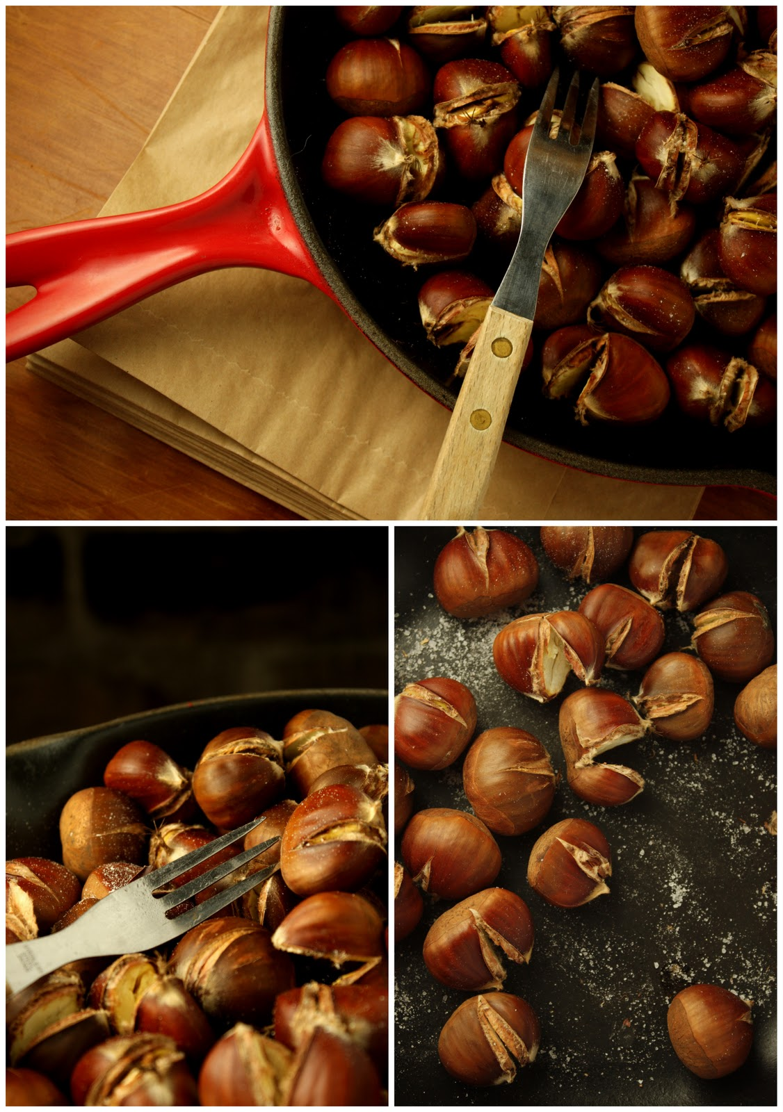 How to roast chestnuts | FoodOpera