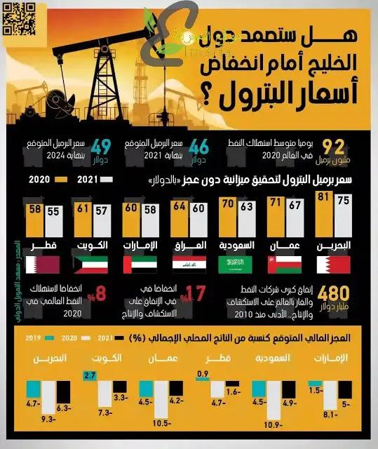 هل ستصمد دول الخليج أمام انخفاض أسعار البترول؟ تعرف علي ذلك