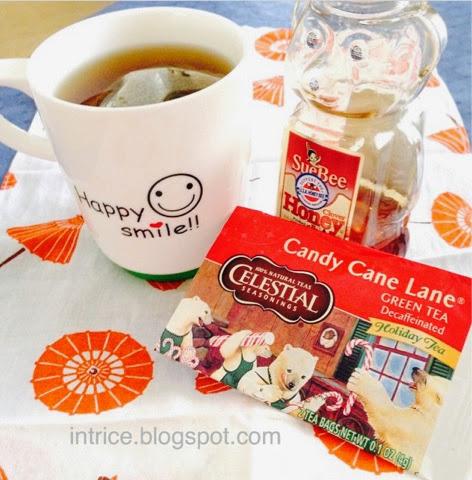 Celestial Seasonings Candy Cane Lane Green Tea -- photo credit: intrice.blogspot.com