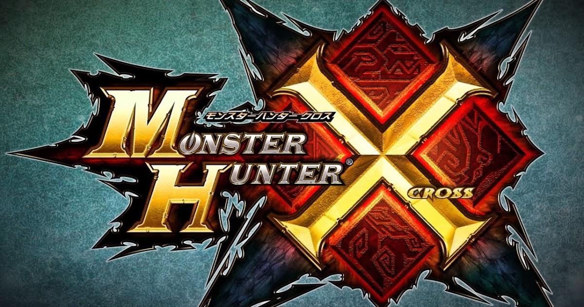 Monster Hunter Cross 3ds Comes Westward As Monster – Dibujos Para