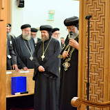 His Holiness Pope Tawadros II visit to St. Mark LA - DSC_0170.JPG