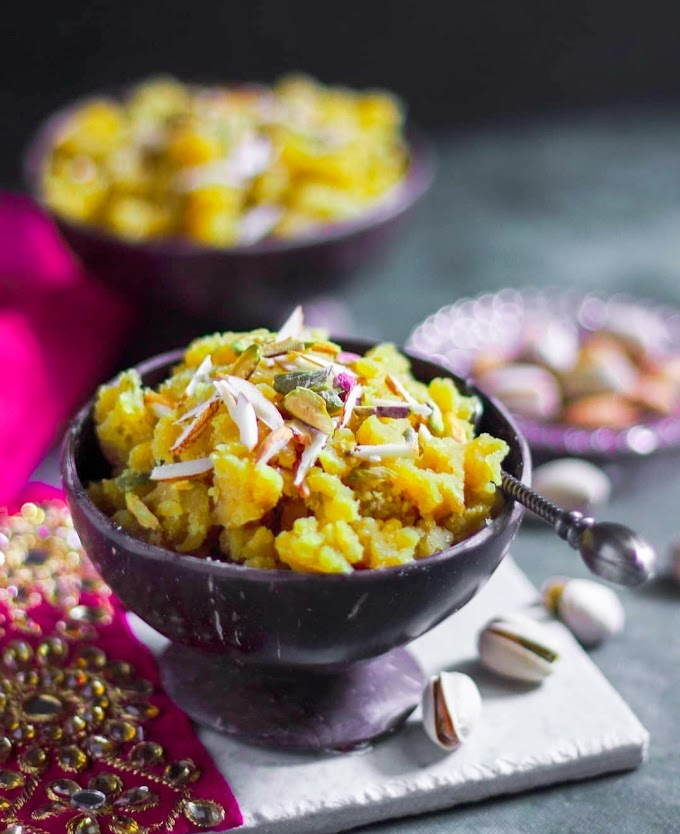 Chana Dal Halwa Recipe | Breakfast Care