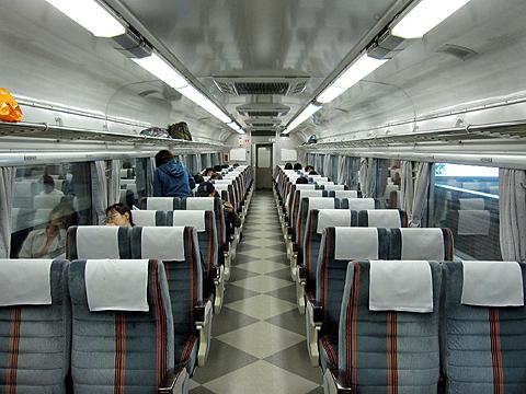 JR夜行列車 急行「はまなす」 自由席