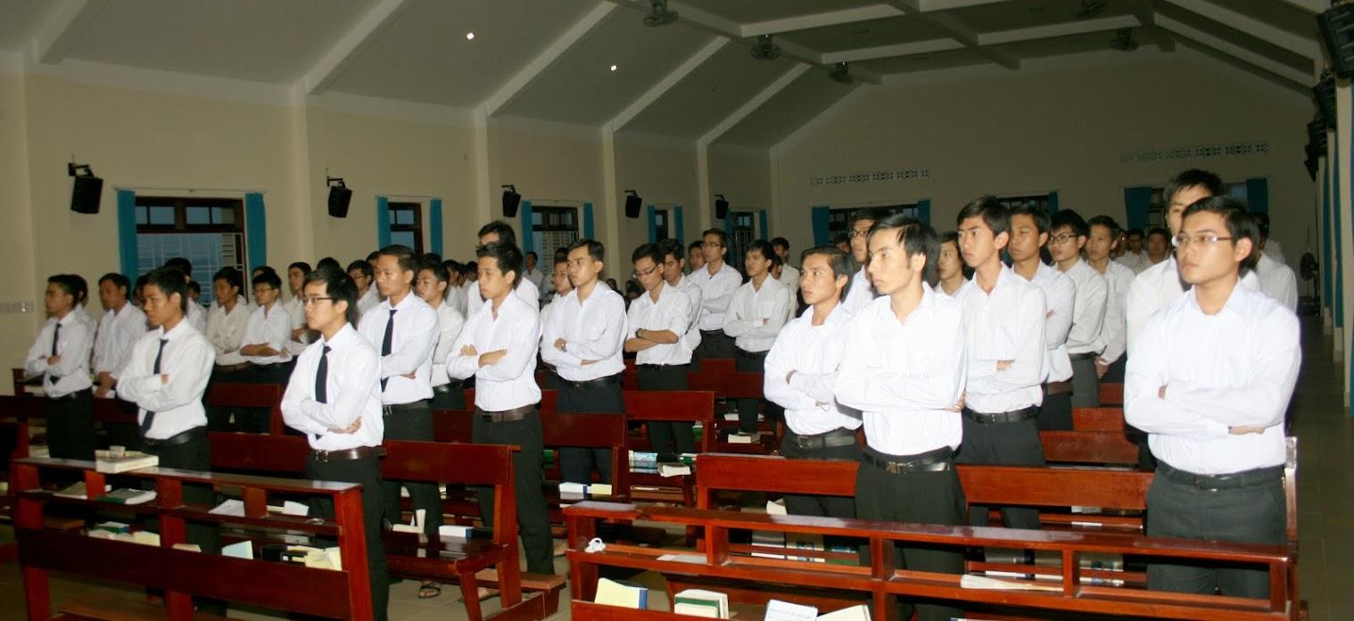 Chủng Viện Lâm Bích mừng lễ Bổn Mạng Đức Mẹ Dâng Mình