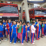 GRADE-1 STUDENTS VISIT THE FIRE STATION