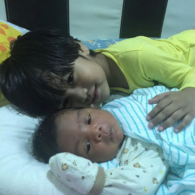 Zahra mula menerima adiknya ?