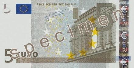 gambar uang kertas 5 euro
