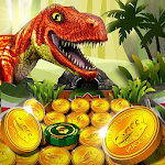 Jurassic Dinosaur Coin Pusher