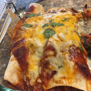 Shrimp and Crab Enchiladas Recipe