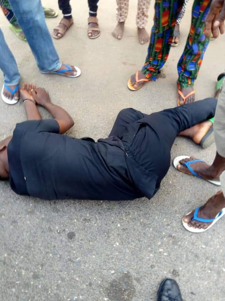 IBadan East LCDA Chairman Rescue Okada  Man From Police Brutality