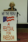 "Anne Hendershott spoke on ""The Common Good"" on Day 4, and on ""What's happening around the country"" on Day 5."