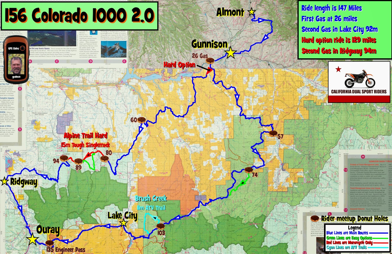 Taylor Park Colorado Map.Colorado 1000 2 0 Gpskevin Adventure Rides