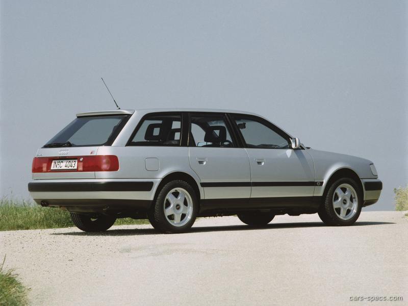 1988 Audi 100 Quattro Avant Wagon C3 phase II full range specs