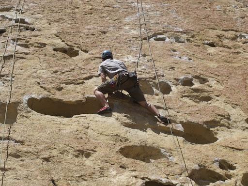 Climbing the 5.10a