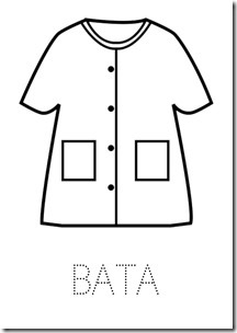 BATA ropa dibujos colorear pintaryjugar  (13)