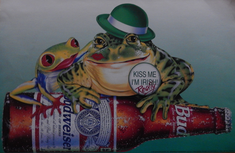 Budweiser St. Patrick's Day Poster