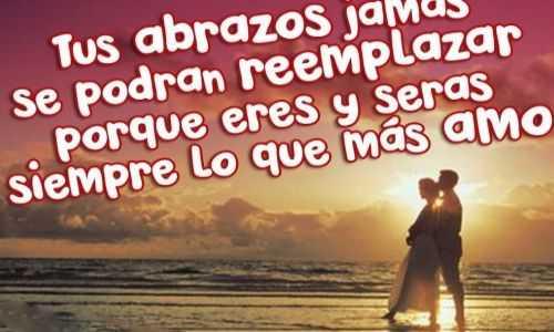 Eres todo lo que quiero Carta romántica para mi amor